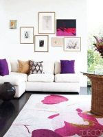 Image for Elle Décor's Top 7 Interiors with Designer Rugs in 2015 on Pinterest