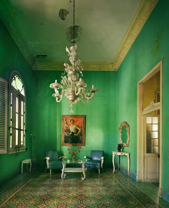 Havana-Cuba-Blue-Archway-Michael-Eastman-Copyrighted-Photo-2010-Bright-green-Walls-Tiled-Floor.jpg