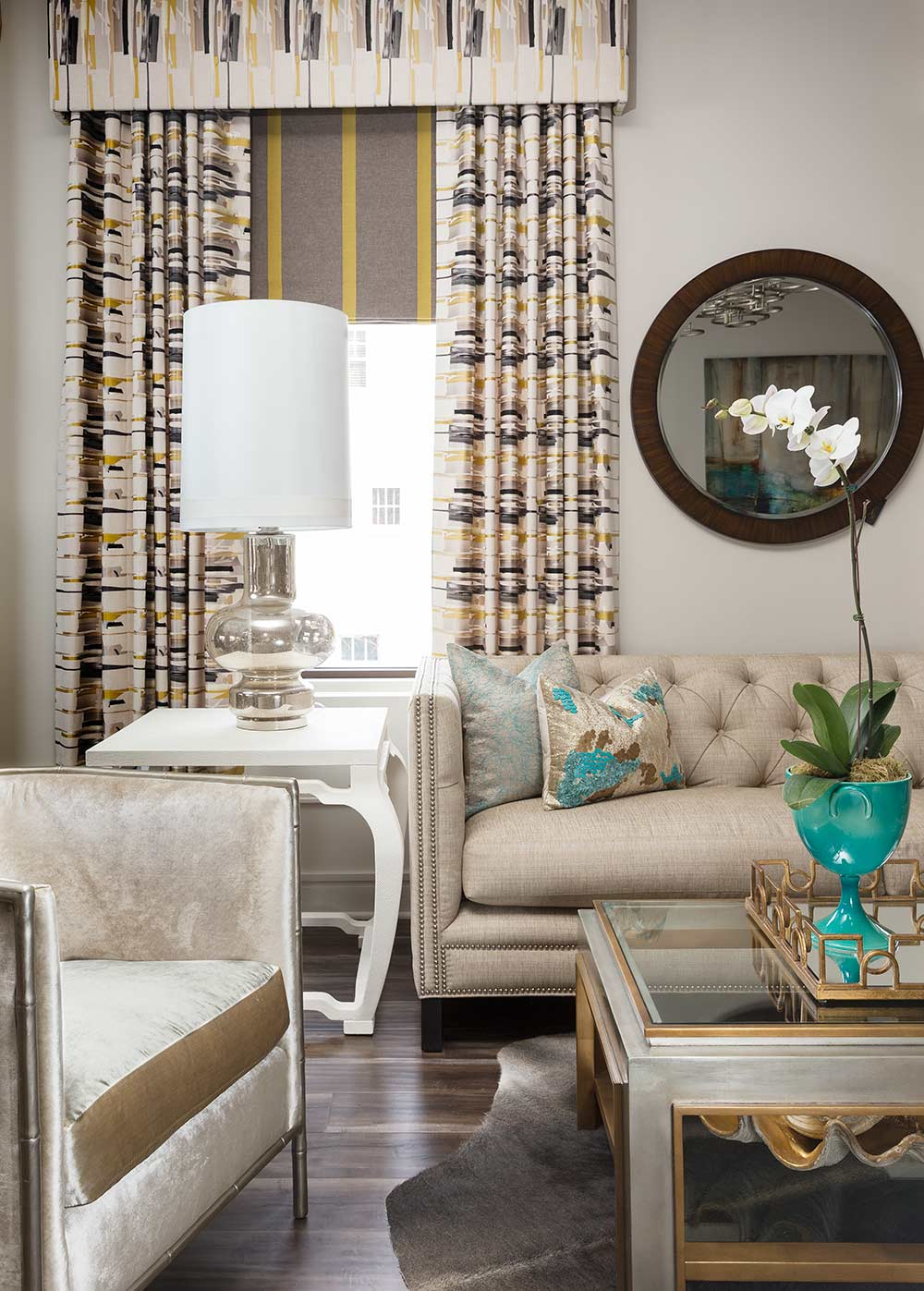 Asmara designer rugs spotlight interview with Sam Ciardi - Living Room