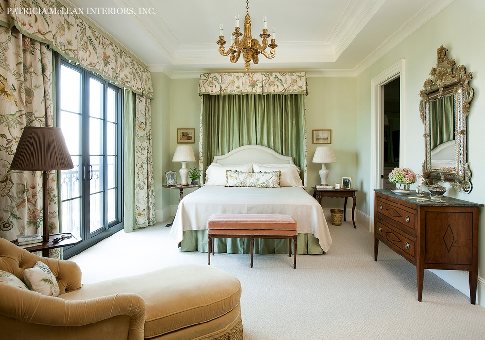 Patricia McLean St. Regis Atlanta Bed Room