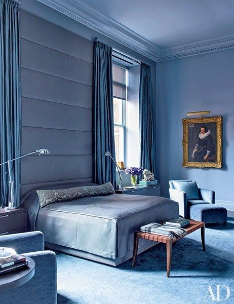 Pinterest\'s Top 14 Blue Rugs and Blue Bedrooms