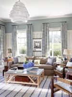 Image for 10 Fabulous Nantucket Blue and White Interiors with Decorative Rugs