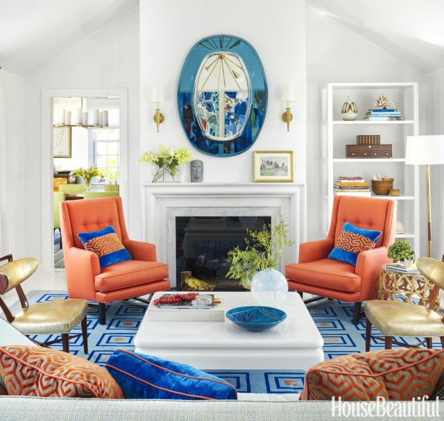10 Beach House Decor Ideas: 10 Fabulous Nantucket Blue And White Interiors With