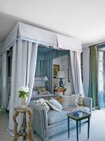 Image for 10 Best Blue Bedrooms and Blue Rugs in Architectural Digest