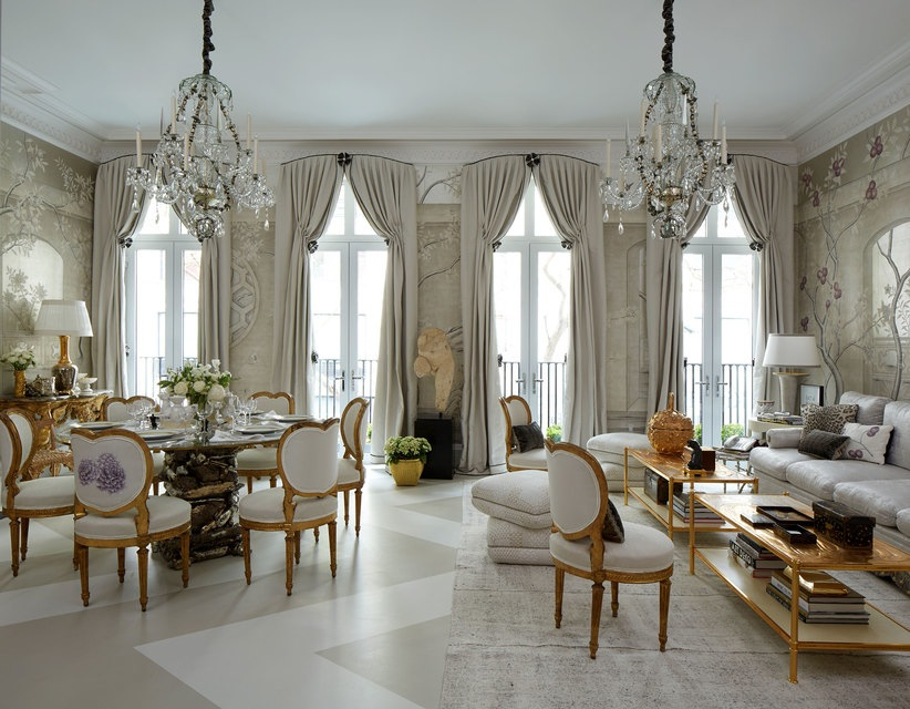Kips Bay Decorator Show House - Living Room - Alex Papachristidis