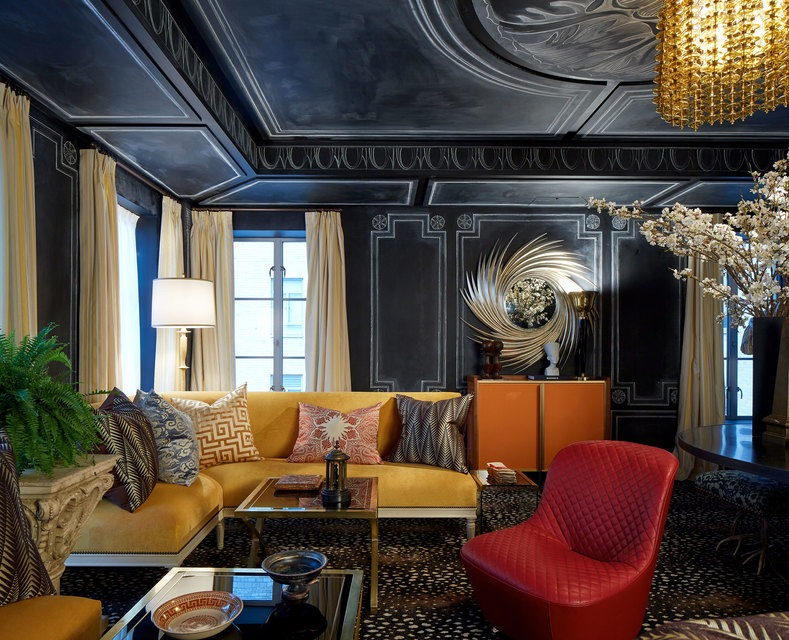 Kips Bay Decorator Show House - Lounge - Garrow Kedigian Interior Design