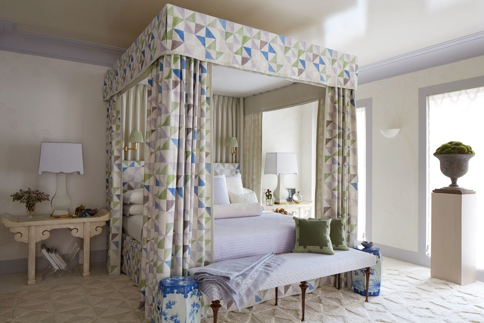 Kips Bay Decorator Show House - Master Bedroom - Timothy Whealon
