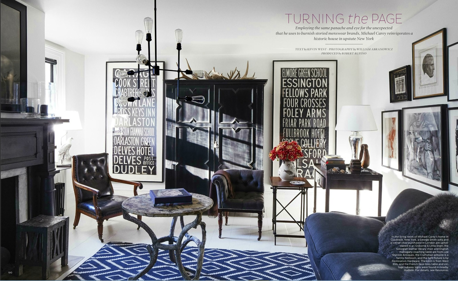 Elle Decor S 5 Best Rooms With Designer Rugs In October 2016