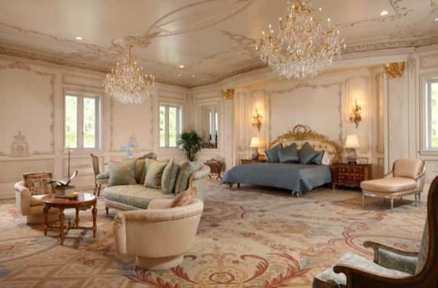 gold-and-red-Savonnerie-rug-master-bedroom-Le-Palais-Des-Anges-9577-Sunset-Boulevard- Beverly-Hills-California-2.jpg