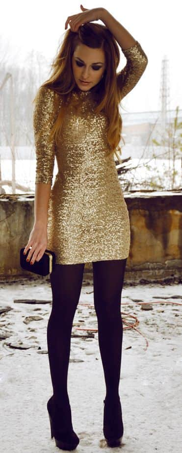 gold-sequin-dress-with-black-tights-and-pumps.jpg