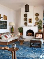 Image for Architectural Digest 6 Best Rooms with Designer Rugs in June 2017