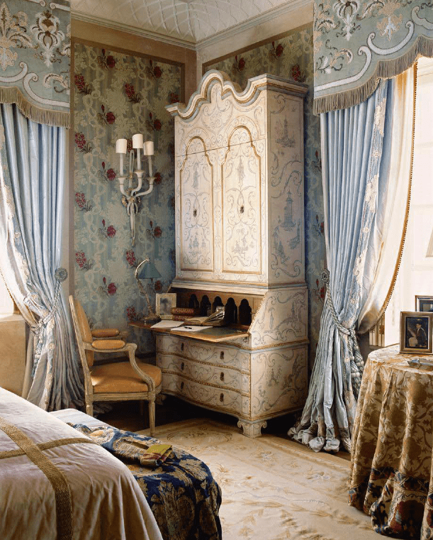 beige-aubusson-rug-blue-silk-wallcovering-bedroom-by-alidad-design.png