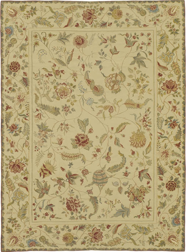 Bessarabian rugs, Floral rugs, Needlepoint rugs