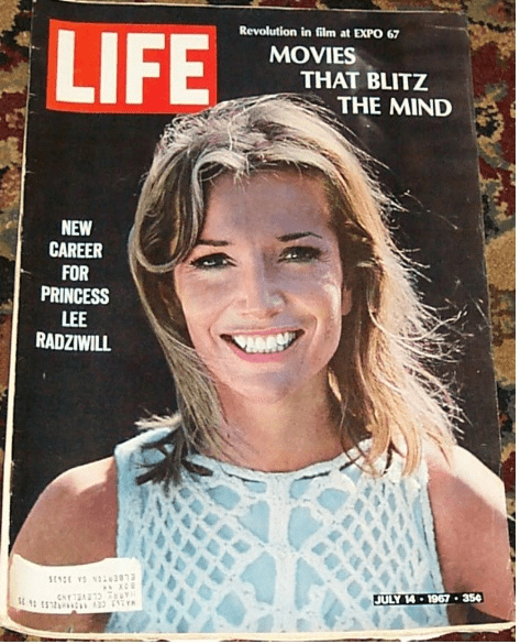 Lee Radziwill, Life magazine resized 600