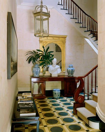 green-neoclassical-rug-stair-landing-designed-by-Miles-Redd-in-an-old-Greek-revival-mansion-New-York-City.jpg