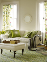 Image for 5 Chic Ways to Design Modern or Traditional Rooms with Green Rugs