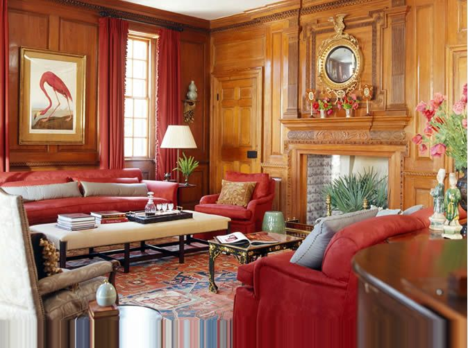 red rug in living room 19 ways to enhance interiors with rugs and antiques 20808